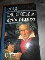LIBRO: ENCICLOPEDIA DELLA MUSICA EMG - UTET *******