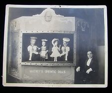 WHITNEY`S OPERATIC DOLLS MARIONETTE & PUPPET THEATER STAGE 8X10 PHOTO NYC OPERA