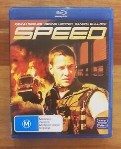 Speed AUS Blu-ray - AS NEW - OOP - Keanu Reevs
