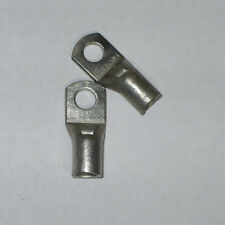 """Unknown Manufacturer One Hole Compression Lug, YA-AN4, 1/4"""" Bore, Lot of 2 , New"""