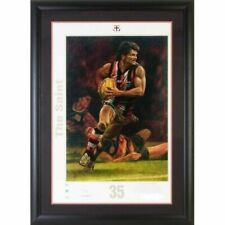 AFL St Kilda Saints Robert Harvey Signed Print by Jamie Cooper
