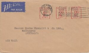 Stamp New Zealand 2d + 2d + 1d postage on Auckland Drug Co cover to Australia