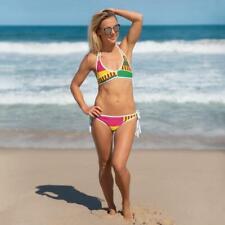 (ESSENCE) Kente-Inspired Hand-Sewn Luxurious Bikini