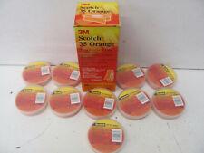 Box Of 10 3M Scotch 35 Orange