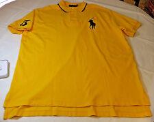 Polo Ralph Lauren Mens shirt XL 069006 Racing Yellow Big Pony #3 MCClassics1 NWT