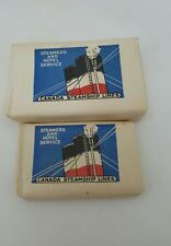 Procter & Gamble Ivory Soap Canada Steamship Lines Bar Soap Hotel Service Travel