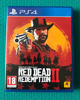 Red Dead Redemption 2 - Sony PlayStation 4 - PS4 - Includes Map -VGC
