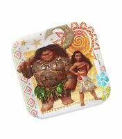 "Moana Party Supplies Plates 8 Pack Maui Birthday Tableware Dessert 7"" Designware"