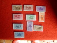 ITALY COLONIES CARCHI  1932  STAMPS SET OF 10 MH