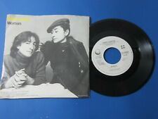 LENNON, JOHN - Woman/Beautiful Boys.45 PROMO. w/Pic.Sleeve 1980 ESTATE RECORD