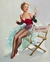 Gil Elvgren Pin Up Girls Giclee Art Paper Print Paintings Poster Reproduction
