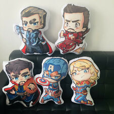 The Avengers Plush Toy Soft Doll Captain America Doctor Who Thor Iron Man Pillow