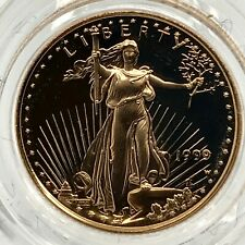 1999-W  AMERICAN GOLD EAGLE PROOF 1/10th OZ  $5 In Box.