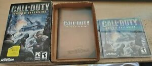 Call of Duty: United Offensive (PC, 2004) Complete Set Expansion Pack