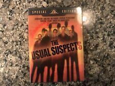 The Usual Suspects Dvd. 1995 Drama/Mystery.