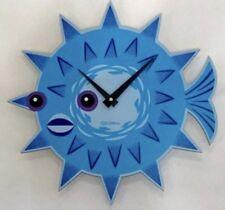 SHAG Josh Agle Puffer Fish Wall Clock Tiki New Featured in Serigraph Art Print