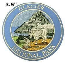 Glacier National Park Patch Souvenir Travel Embroidered Iron / Sew-on