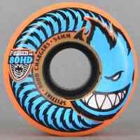 SPITFIRE SKATEBOARD Wheels  54mm 80HD CHARGERS Orange 4 Wheels Conical