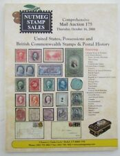 US POSSESSIONS & BRITISH COMMONWEALTH 2008 NUTMEG STAMP AUCTION CATALOG