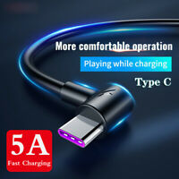 For Samsung Galaxy A50 A40 A20E 5A USB Type C Charger Data Cable Fast Charging
