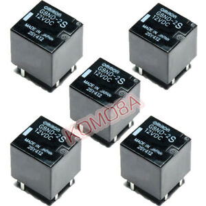 5PCNew Relay G8ND-2UK 12VDC For Omron For Renault BMW X5/X6 Electronic Handbrake