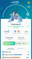 Swampert with Hydro Cannon CP < 2500 unlock 3 moveset for pvp Ultra - Trade