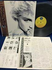 Madonna True Blue Super Club Mix Japan LP Vinyl Record P-6244 Obi Insert Card