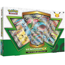 *DAMAGED BOX*POKEMON CARDS: VENUSAUR EX RED & BLUE COLLECTION BOX: BOOSTER PACKS