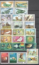 R9938 - MONGOLIA 1977 - LOTTO 24 TEMATICI DIFFERENTI DEL PERIODO - VEDI FOTO