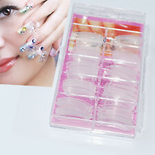 100pcs Lady Nail Art Design Tips Decoration Dual Form Nail System UV GEL Acrylic