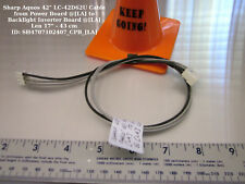 "Sharp Aquos 42"" LC-42D62U Cable from Power Board @[LA] to Backlight Inverter"
