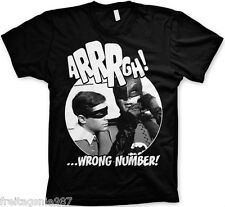 BATMAN WRONG NUMBER T-Shirt  camiseta cotton officially licensed