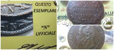 Vittorio Emanuele II 2 Centesimi 1861 Napoli N piu' grande R4 qbb sigillo NIP