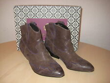 Isola Shoes Size 6 M Womens New Odin 6406023 Ash Grey Suede Ankle Boots NWOB
