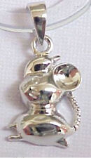 Beautiful .925 Sterling Silver Charm Chinese Zodiac Mouse C181