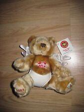 Herrington Teddy Bears Hard Rock Cafe Hollywood Angel Plush Bear/Free Shipping!