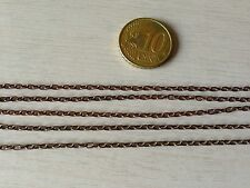 Metal Tow Chain for 1/35 AFV scale model Aftermarket Metal Part Rusty Used look