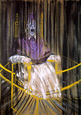 FRANCIS BACON * PoPE INNOCENT * LARGE A3 SiZE QUALITY CANVAS ART PRINT