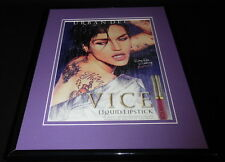 Ruby Rose 2017 Urban Decay Vice Lipstick 11x14 Framed ORIGINAL Advertisement