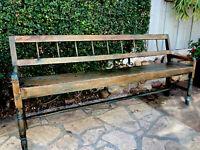 19th Century Deacon's Bench