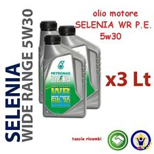 3 LITRI OLIO SELENIA WR P.E. 5w30 per mot. ALFA FIAT LANCIA Multijet OE + filtro
