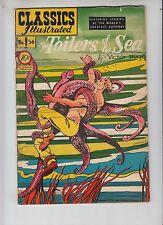 Classics Illustrated 56 VG+ (4.5) Toilers of the Sea! HRN 55! Original 2/49