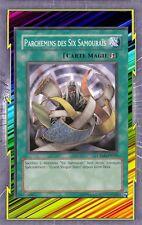 Parchemins des Six Samouraïs CRMS-FR059 Magie Jeu-Rapide => Six Samouraïs YGO