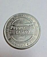 1982 PEPPERMILL CASINO LAS VEGAS GAMING TOKEN $1.00 + BONUS