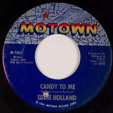 """EDDIE HOLLAND: Candy to Me US Motown Northern Soul 7"""" 45 MP3"""