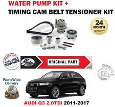 für Audi Q3 CGLE CSUE CFFA dftb CFFB CLJA 2011-2017 ZAHNRIEMENSATZ + WASSERPUMPE