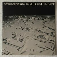 HARRY CHAPIN ~ LEGENDS OF THE LOST AND FOUND ~ 1979 UK 16-TRACK VINYL 2LP SET