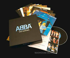 ABBA 9 x CD BOX Set The Albums + Bonus Ring Ring, Waterloo, Abba, NEW and SEALED
