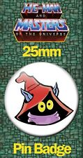 ORKO FACE 25mm BADGE He-Man and the Masters of the Universe MOTU Image