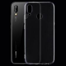 Huawei P20 Lite Silikoncase Etui Cover Hülle Bumper Soft Case Tasche Transparent